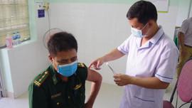 Tiêm vắc xin AstraZeneca cho cán bộ, chiến sĩ  BĐBP tỉnh Bà Rịa – Vũng Tàu