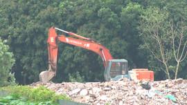 Nam Từ Liêm - Hà Nội: Buông lỏng quản lý rác thải xây dựng để san lấp mặt bằng