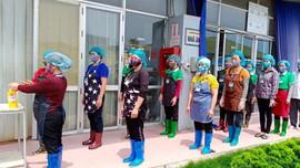 Ninh Bình: Cơ sở sản xuất kinh doanh, khu, cụm công nghiệp tăng cường phòng, chống dịch Covid-19