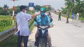 Cẩm Giàng - Hải Dương: Chốt phong tỏa cách ly y tế phòng chống dịch Covid - 19