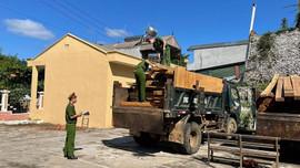 Sơn La: Bắt giữ 2 vụ vận chuyển gỗ trái phép