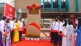 Ba Đình - Hà Nội: Gắn biển 2 công trình chào mừng Bầu cử Quốc hội khóa XV và HĐND các cấp