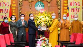 Phó Chủ tịch Thường trực Quốc hội chúc mừng Giáo hội Phật giáo Việt Nam nhân Đại Lễ Phật đản