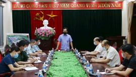 Thái Nguyên: Chủ tịch UBND tỉnh họp khẩn với huyện Phú Bình về công tác phòng, chống dịch COVID-19