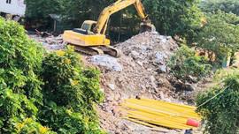 Hoàng Mai - Hà Nội: Tập kết phế thải, cho thuê kinh doanh trái phép trên đất dự án có bị xử lý?