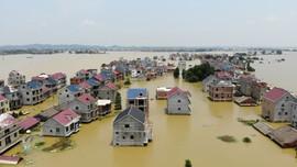71 con sông ở Trung Quốc vượt mức cảnh báo