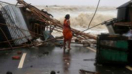 Hơn 50.000 người mất nhà cửa ở miền Đông Ấn Độ do bão Yaas