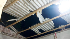 Lào Cai: Dông lốc làm tốc mái 135 ngôi nhà