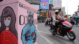 Hà Nội: Độc đáo bốt điện vẽ tranh cổ động phòng, chống dịch COVID-19