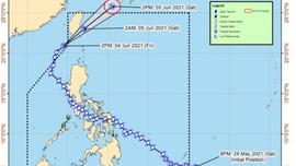 Đài Loan (Trung Quốc) cảnh báo bão Choi-wan trên 15 địa phương
