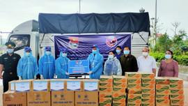 Tuổi trẻ Quảng Trị hỗ trợ các tỉnh của Lào vật tư y tế phòng dịch Covid-19