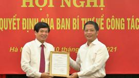 Ban Bí thư Trung ương Đảng điều động, bổ nhiệm nhân sự mới tại Ban Kinh tế Trung ương