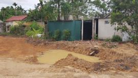 Quảng Trị: Cơ quan chức năng điều tra vụ bé trai chết dưới hố công trình