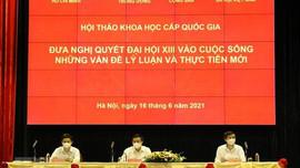Thảo luận, đề xuất các giải pháp đưa Nghị quyết Đại hội XIII vào cuộc sống
