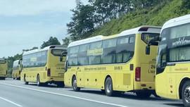 Lào Cai: Đón 267 công nhân trở về từ tâm dịch Bắc Giang