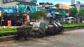 Hà Nội: Thiếu đất trống tập kết rác