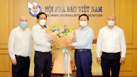 Bộ trưởng Bộ TN&MT Trần Hồng Hà chúc mừng Hội Nhà báo Việt Nam nhân Ngày Báo chí Cách mạng Việt Nam