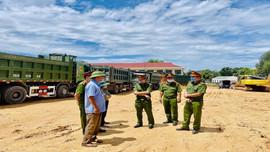 Thanh Hóa: Ra quân kiểm tra tải trọng phương tiện, ngăn chặn khai thác khoáng sản trái phép