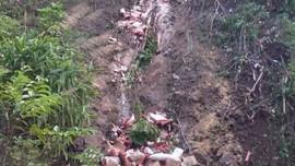 Sơn La: Xe tải chở hàng lao xuống vực khiến 3 người thương vong