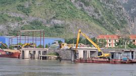 """Cụm cảng Công ty Sơn Hữu bị """"tố"""" gây ô nhiễm:Không thực hiện đúng kế hoạch BVMT đã cam kết"""
