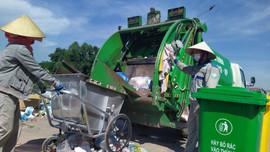 TP. Bắc Giang: Tăng cường công tác thu gom rác phòng, chống dịch Covid-19