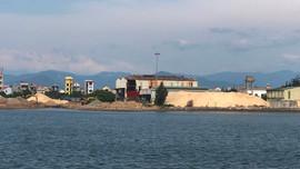 Tập kết cát trái phép tại Nhà máy đóng tàu Nhật Lệ: Xử phạt Công ty tàu thủy Quảng Bình 180 triệu đồng