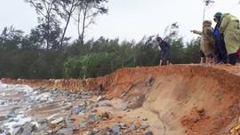 Thừa Thiên Huế: Sạt lở bờ biển nặng nề
