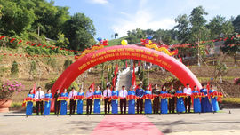 Khánh thành Khu tưởng niệm tâm linh Di tích lịch sử Ngã ba Cò Nòi