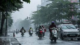 Thời tiết ngày 15/7, Bắc Bộ có mưa rào và dông  vài nơi