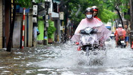 Cảnh báo sớm nguy cơ ngập lụt cho Hà Nội