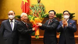 Quốc hội bỏ phiếu kín bầu Chủ tịch Quốc hội Khoá VX