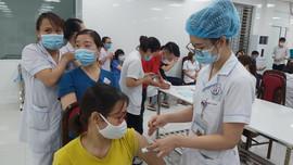 Thái Nguyên: Tiếp tục tổ chức tiêm Vaccine phòng Covid-19