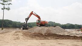 Yên Bái: Nhiều bãi tập kết cát, sỏi không phép ngang nhiên hoạt động rầm rộ