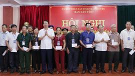 Thái Nguyên: Quan tâm chính sách cho người có uy tín