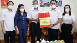 Chủ tịch UBND tỉnh Thái Nguyên, thăm và tặng quà các gia đình chính sách, nhân kỷ niệm 74. năm ngày Thương binh - Liệt sĩ