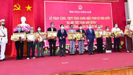 """Thừa Thiên Huế: Truy tặng danh hiệu """"Bà mẹ Việt Nam anh hùng"""""""