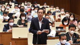 Bộ trưởng Đào Ngọc Dung báo cáo về triển khai các gói hỗ trợ 62.000 tỷ và 26.000 tỷ