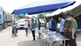 Hà Nam: Lập 05 chốt kiểm soát liên ngành phòng, chống dịch Covid-19