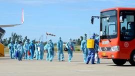 Thừa Thiên Huế đón hơn 230 công dân từ TP.HCM trở về bằng máy bay