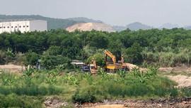 """TP.Hạ Long: Nhiều bến, bãi VLXD không phép """"vô tư"""" hoạt động"""
