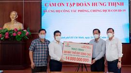Tập đoàn Hưng Thịnh hỗ trợ khẩn hàng chục tỷ đồng cho TP.HCM phòng, chống dịch Covid-19
