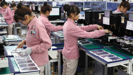 Thu hút đầu tư nước ngoài đạt gần 18 tỷ USD