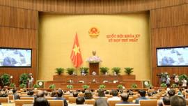 Quốc hội biểu quyết thông qua Nghị quyết Kỳ họp thứ Nhất, Quốc hội khóa XV