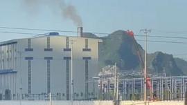 Nghi Sơn (Thanh Hóa): Nhà máy sản xuất bao bì xả khói gây ô nhiễm môi trường