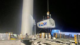 """Đẩy nhanh tiến độ thi công nhà máy Điện gió Kosy Bạc Liêu trước """"giờ G"""""""