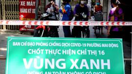 """Mai Động (Hà Nội): Thiết lập """"vùng xanh"""" phòng, chống dịch Covid-19"""