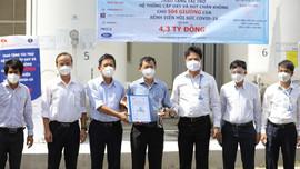 Bàn giao hệ thống Oxy và hệ thống hút chân không cho Bệnh viện Hồi sức COVID-19