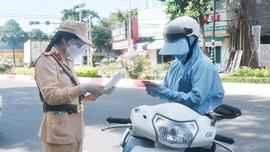 TP. Vũng Tàu: Công an kiểm tra, xử phạt hàng trăm người ra đường không lý do