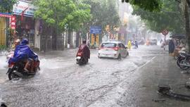 Thời tiết 18/8, cảnh báo lũ quét, sạt lở đất và ngập úng cục bộ tại các tỉnh miền núi