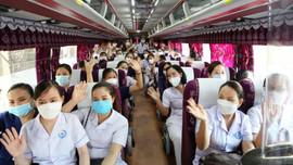 Hà Tĩnh: Điều động 152 cán bộ y tế hỗ trợ tỉnh Nghệ An tham gia phòng dịch Covid 19